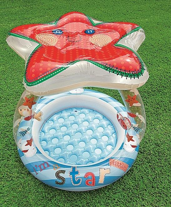 Detský bazén so strieškou