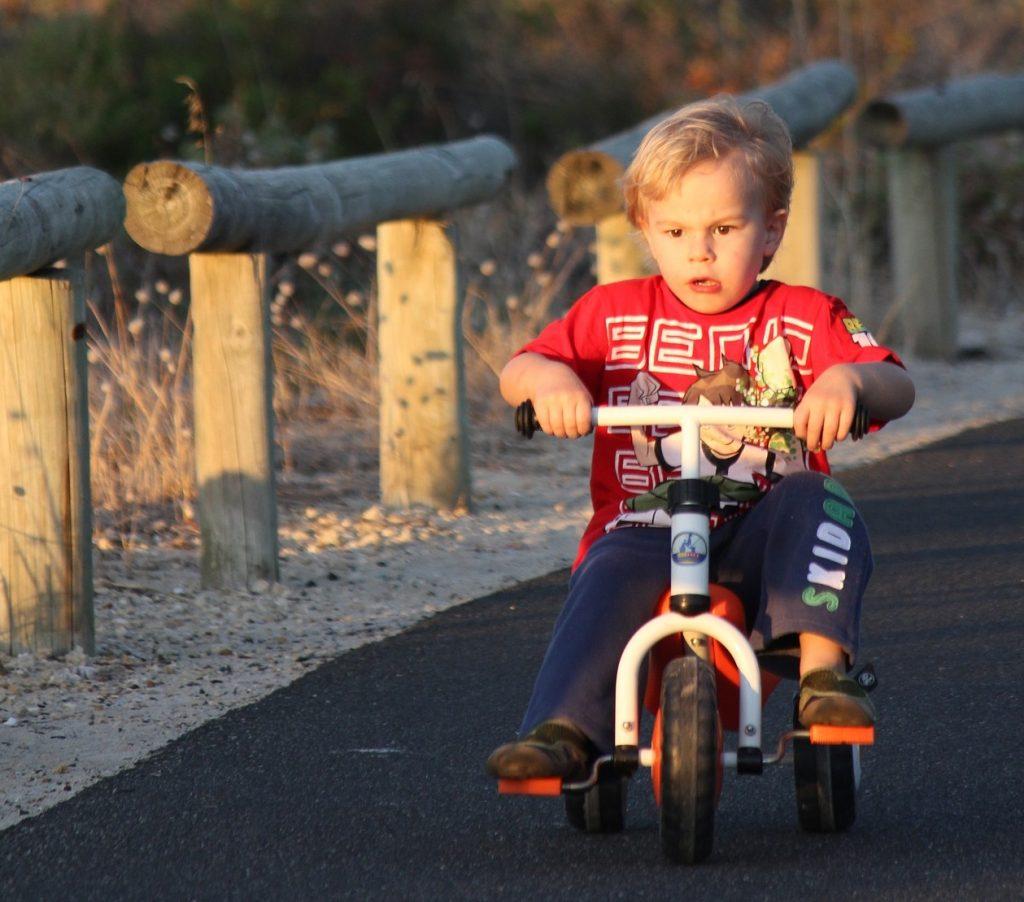 Trojkolka detský bicykel