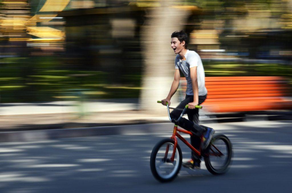 Detský BMX bicykel