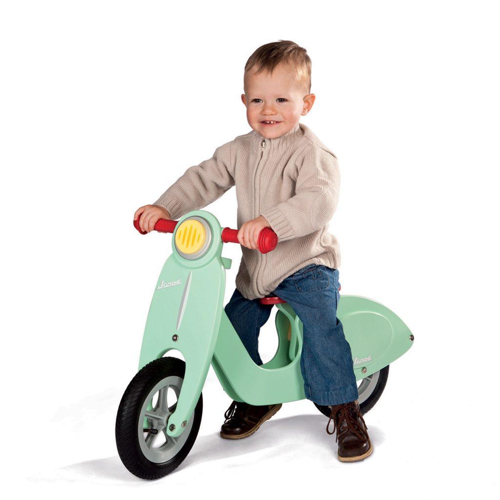 Detský bicykel bez pedálov Janod