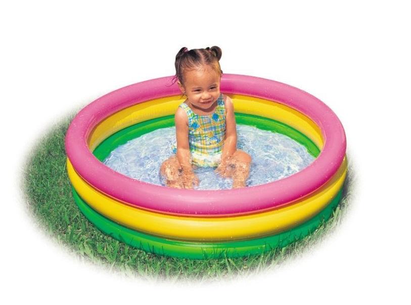Malý nafukovací bazén pre najmenších
