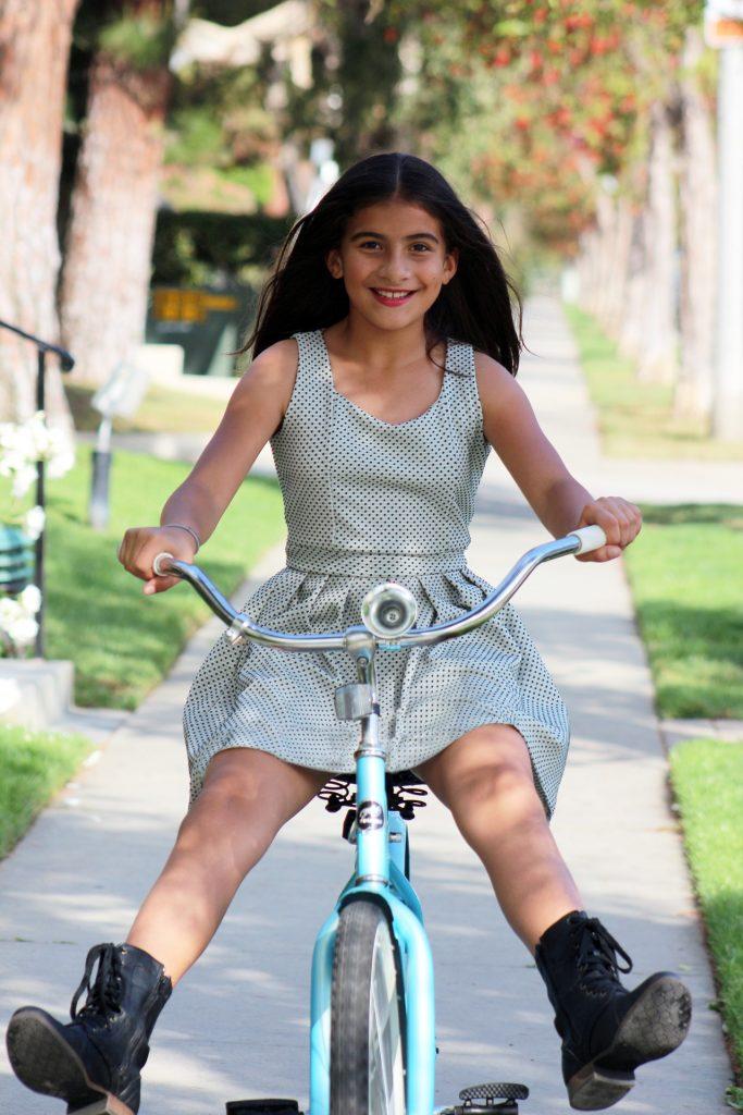 Dievčenský detský bicykel