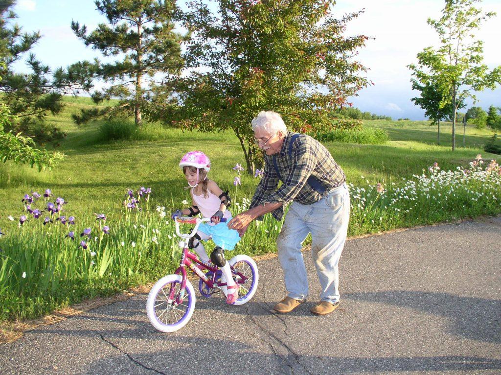 Detský bicykel pre dievča
