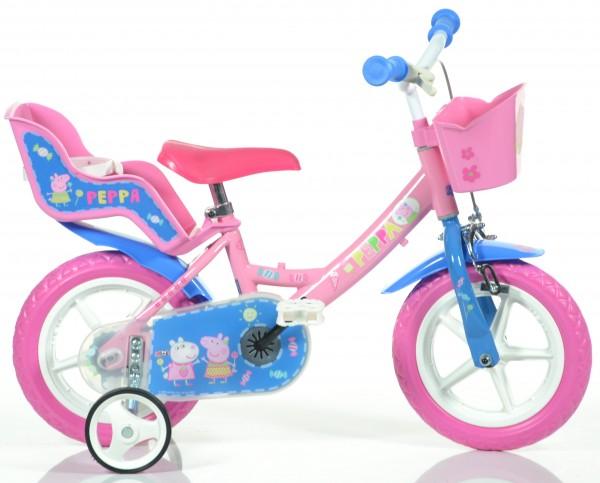 Detský bicykel pre dievča so sedačkou