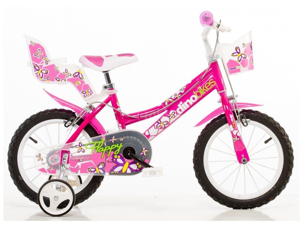 Detský bicykel Dino dievčenský