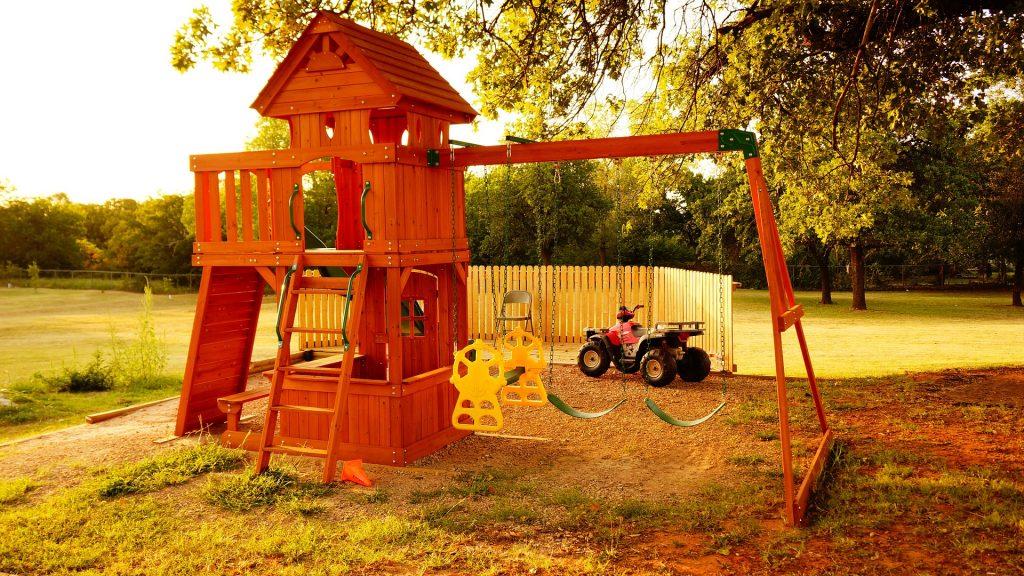 Detské domáce ihrisko