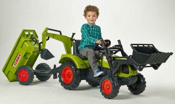 Falk detský šliapací traktor