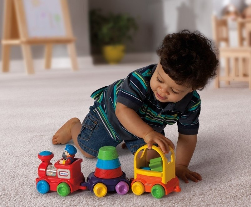 Detský vláčik na hranie pre najmenších