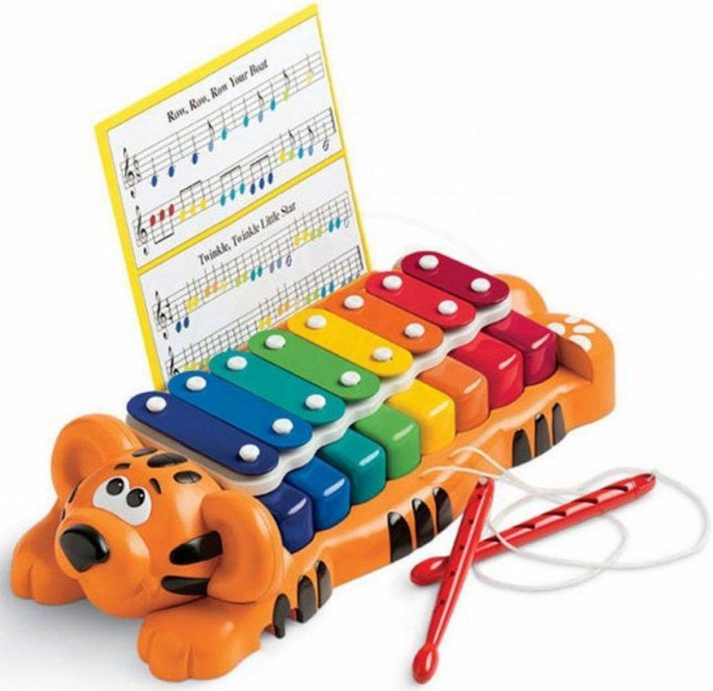 Detský xylofón psík