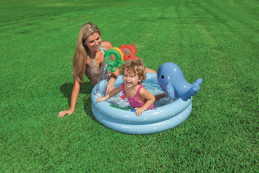 Bazén pre deti s hračkami