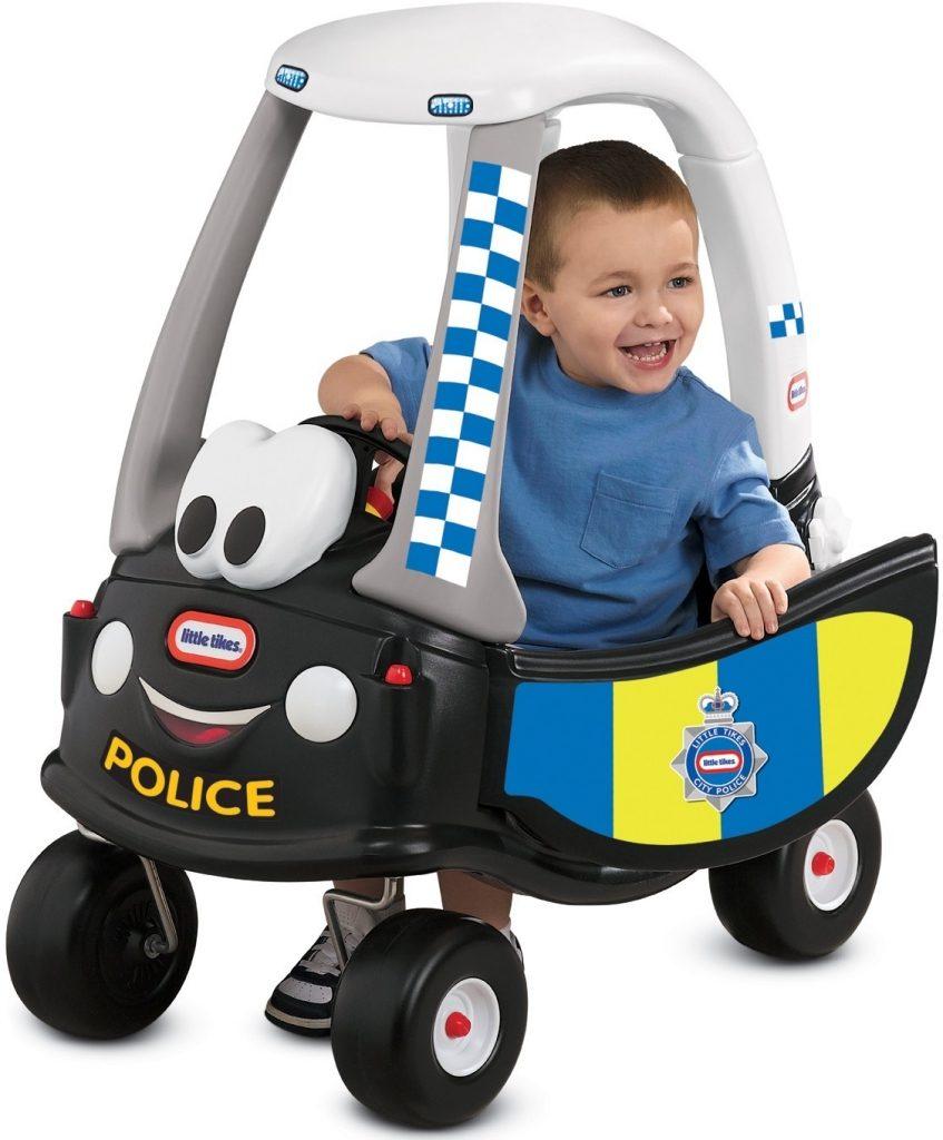 Little Tikes odrážadlo Cozy polícia