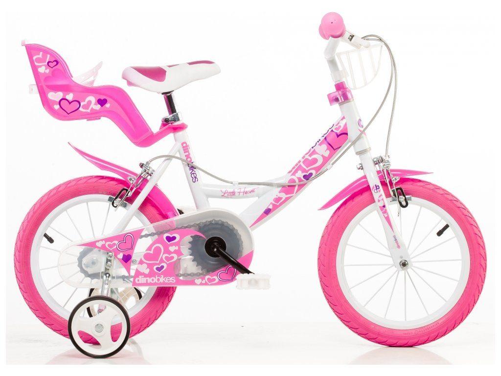 "16"" dievčenský bicykel Dino"