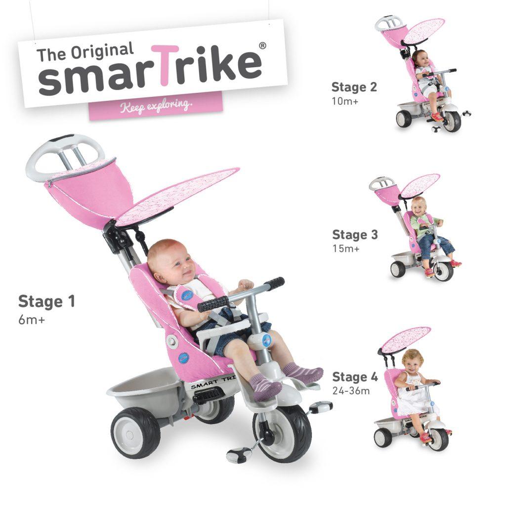 Trojkolky Smart Trike Reclyner