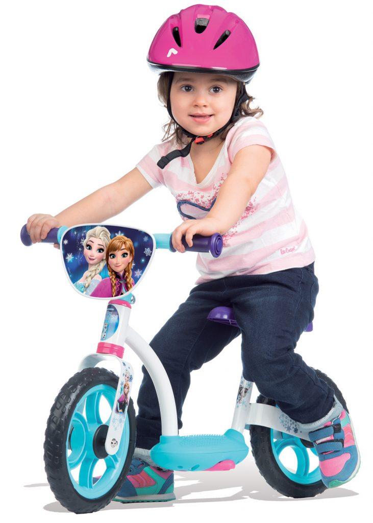 Cvičný bicykel Smoby Frozen