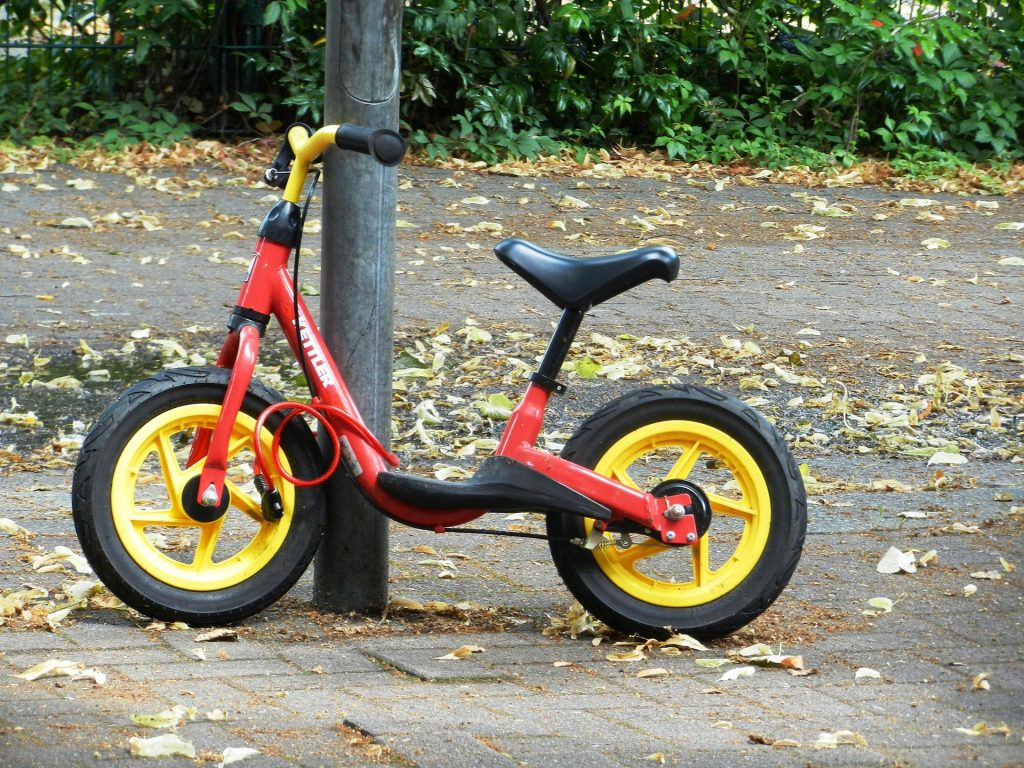 Cvičný bicykel - detské odrážadlo