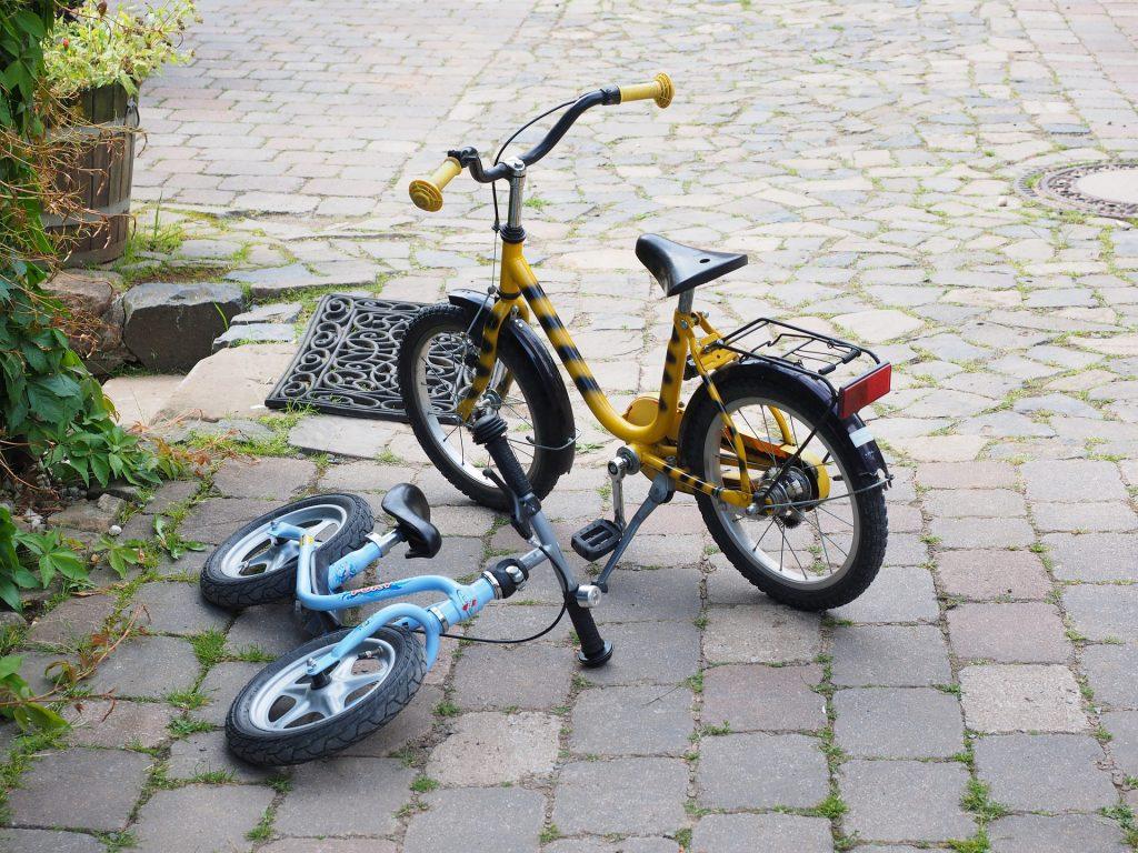 Odrážadlo bicykel bez pedálov
