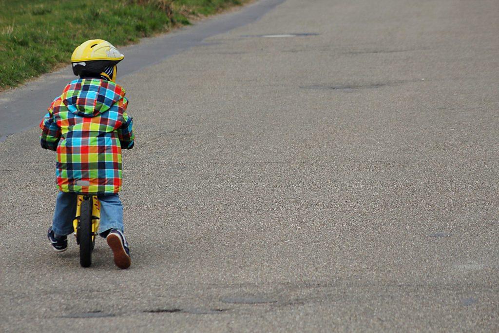 Detské odrážadlo-balančný bicykel