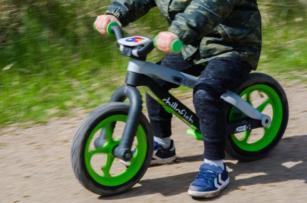Cvičný bicykel Detské odrážadlo