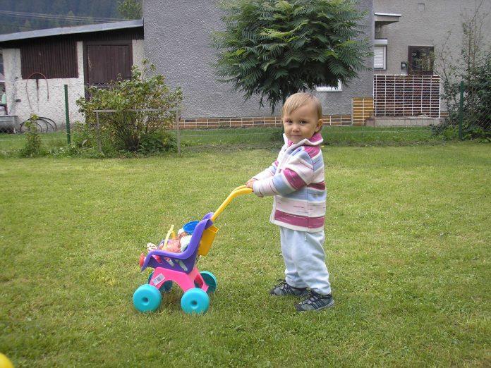 Detský kočiarik pre bábiky