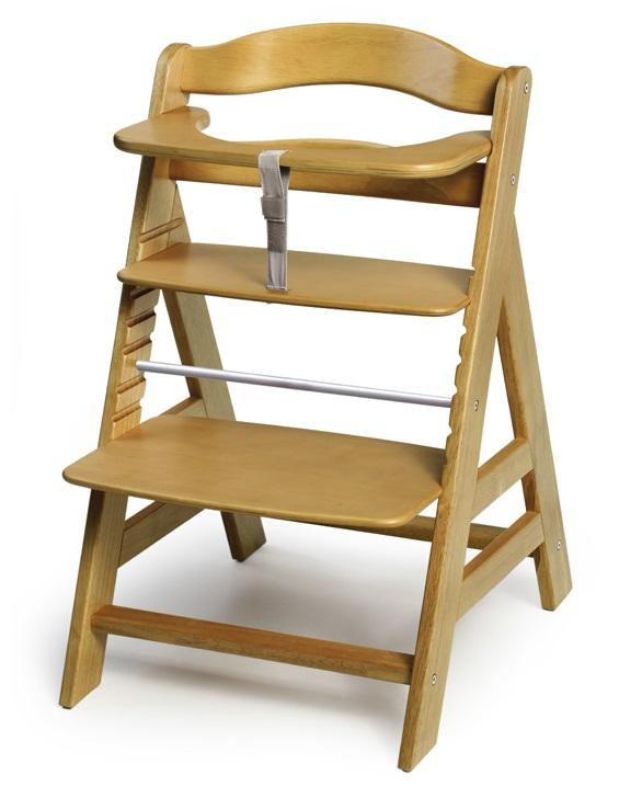 Drevená stolička na kŕmenie
