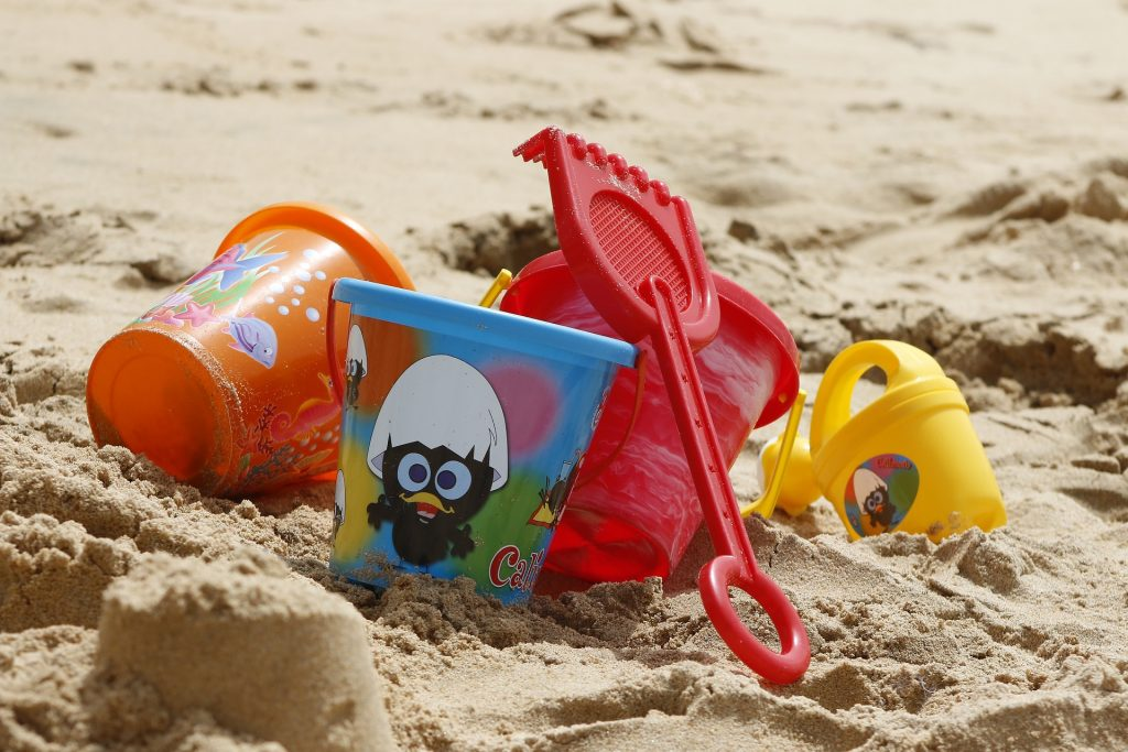 Formičky a hračky do piesku