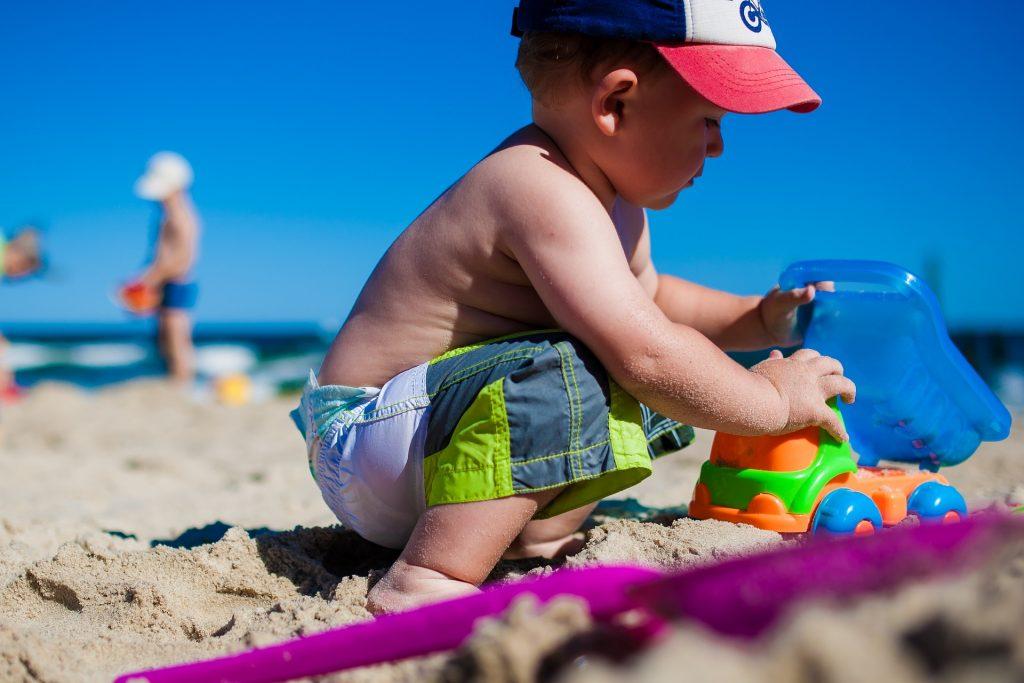 Hračky do piesku a pieskoviska