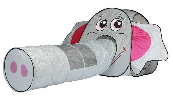Detský stan s tunelom slon