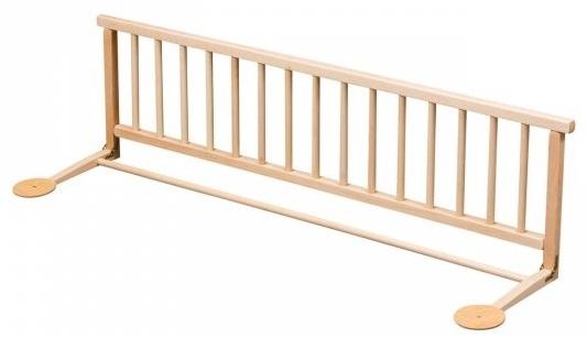 Drevená zábrana na posteľ pre deti
