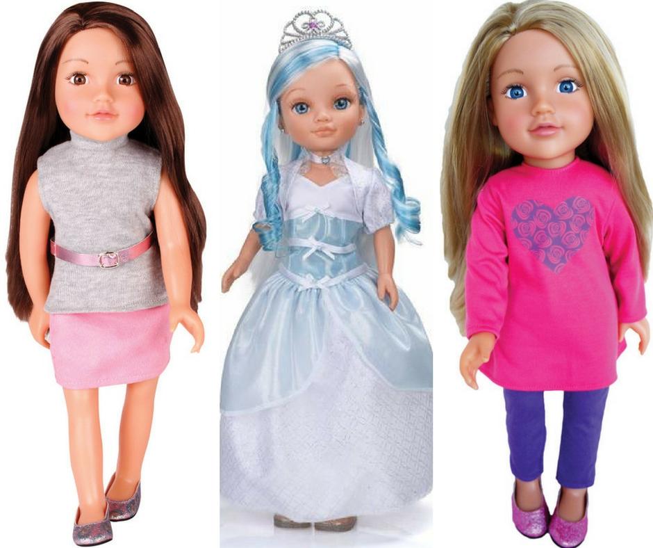 Bábiky s dlhými vlasmi