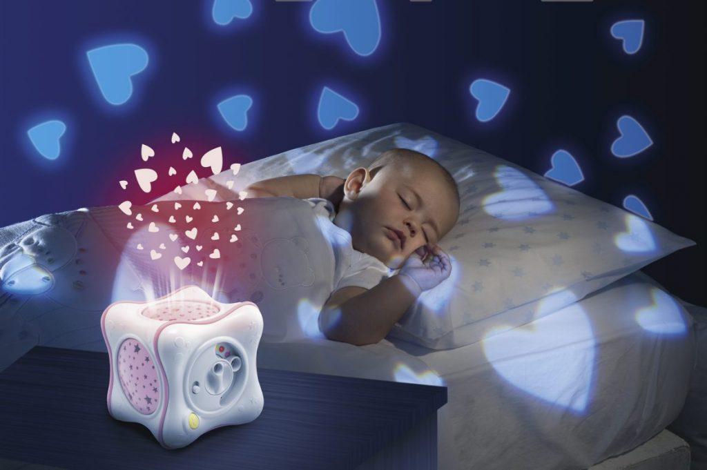 Darček pre novorodenca hudobný projektor