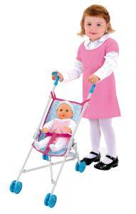 Smoby kočík pre bábiky Frozen buginka