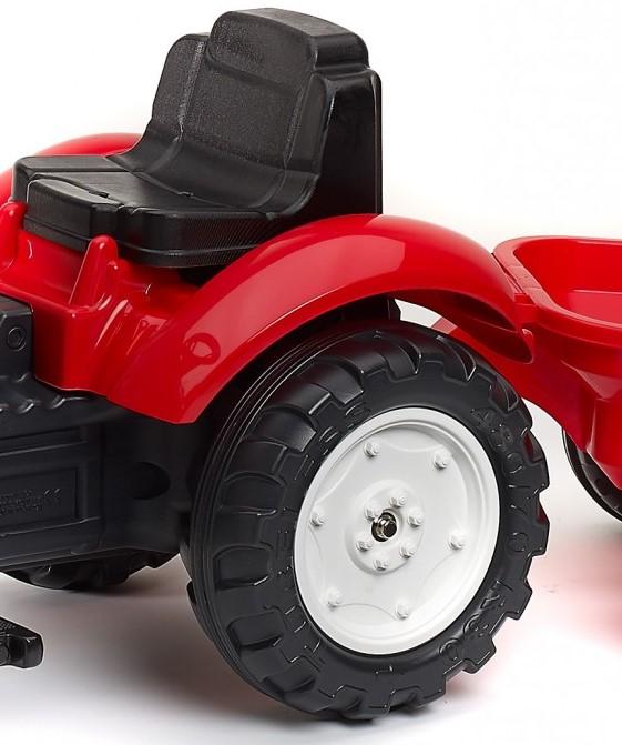 Traktor pre deti Falk s posuvným sedadlom