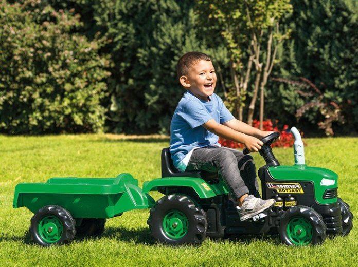 Ako vybrať traktor pre deti