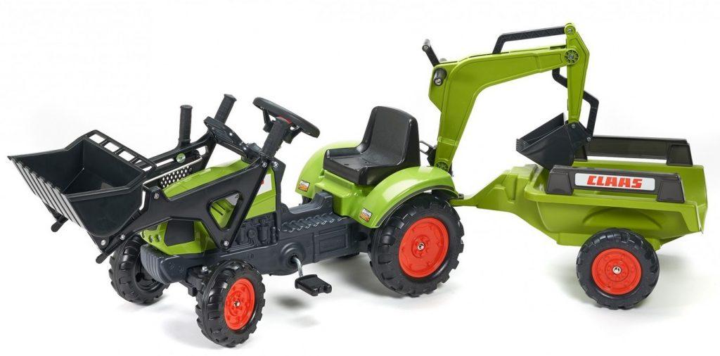 Falk veľký traktor pre deti Claas