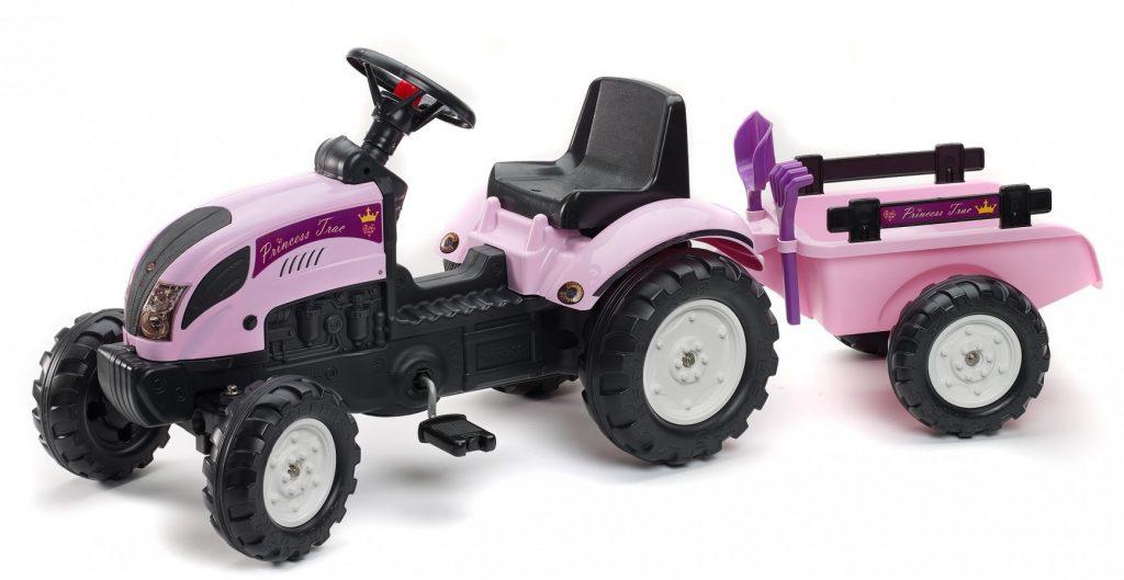 Falk šliapací traktor pre dievčatá