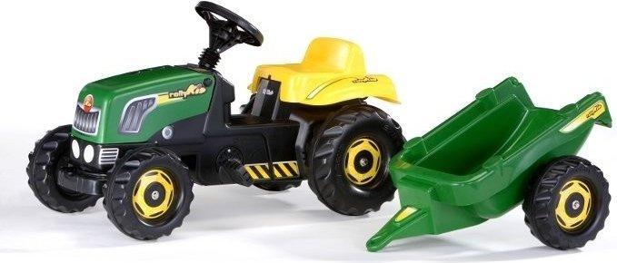 Šliapací traktor pre deti Rolly Toys Kid
