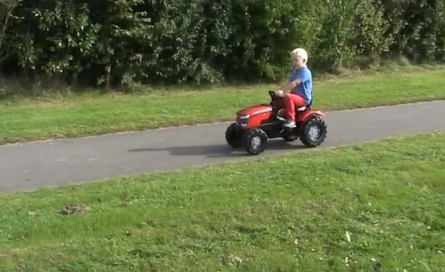 Recenzia traktor pre deti Rolly Toys