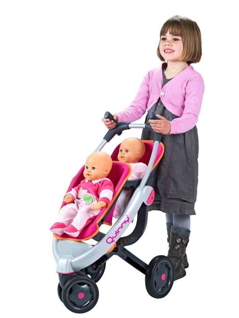 Trojkolesový Smoby kočík pre bábiky