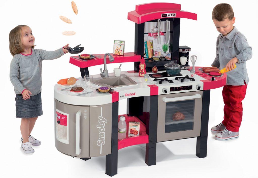 Smoby kuchynka pre deti Tefal Super Chef Deluxe