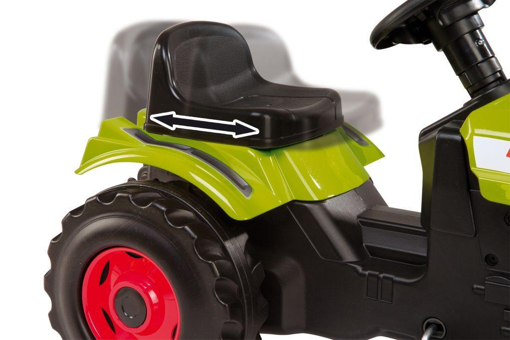 Šlapací traktor pre deti Smoby