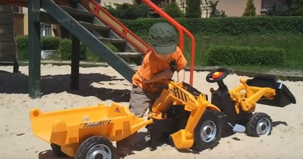 Recenzia traktor pre deti Smoby Max