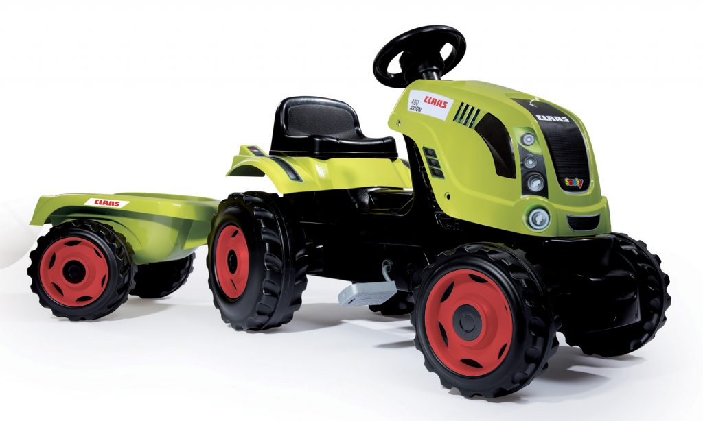 Smoby traktor pre deti s vlečkou