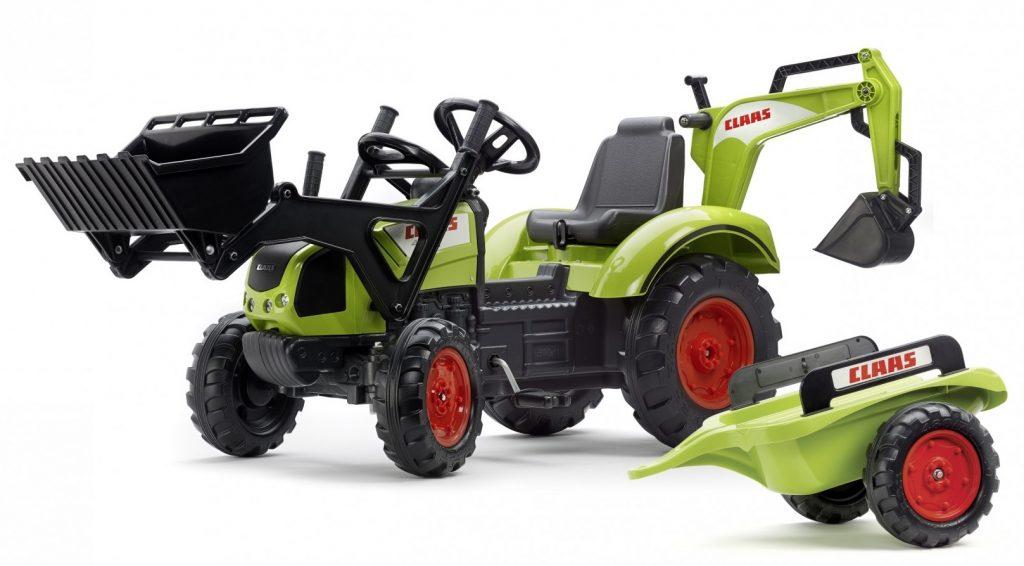 Falk traktor pre deti s bagrom