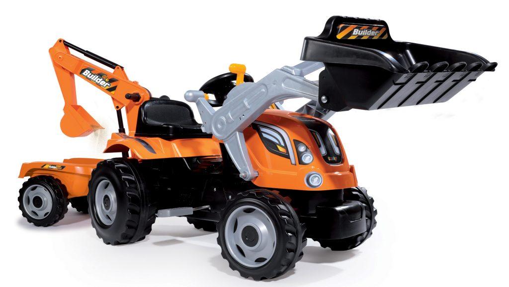 Veľký traktor pre deti Smoby Max