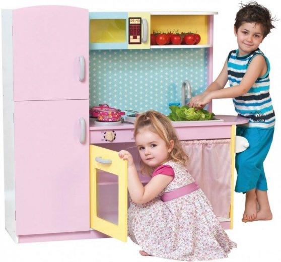 Detská kuchynka drevená