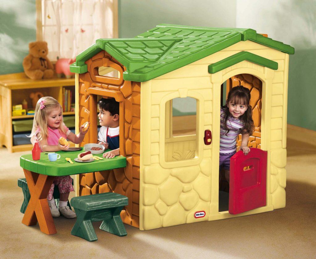 Detský záhradný domček Little Tikes Natural