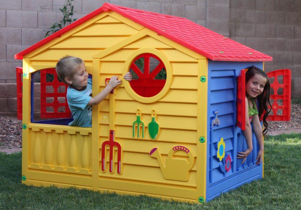 Happy house detský záhradný domček