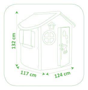 Jura Lodge detský záhradný domček rozmery