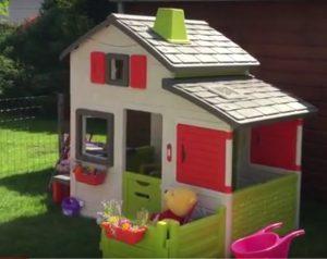 Detský záhradný domček Smoby recenzia