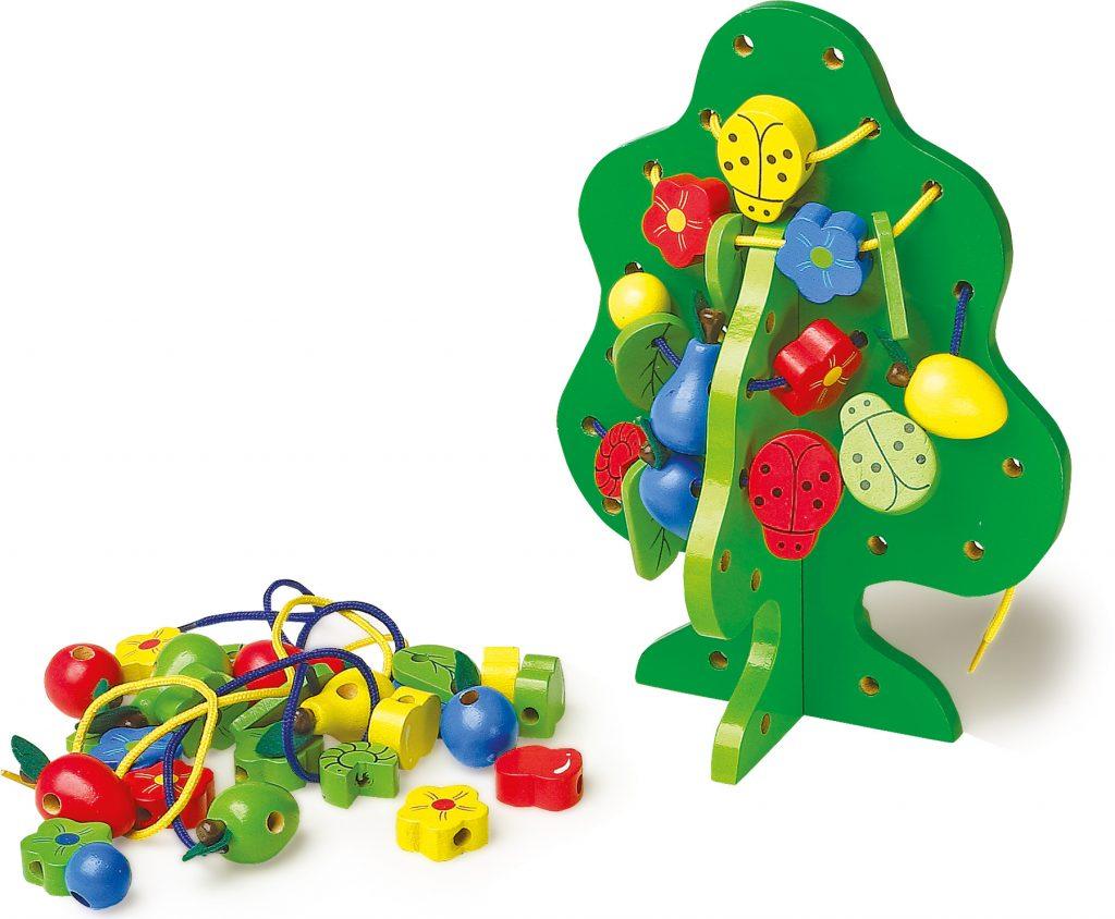Šnurovačky hračka na rozvoj jemnej motoriky